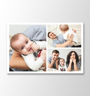 3 photos horizontal collage