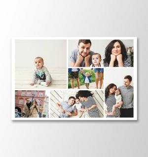 6 photos horizontal collage